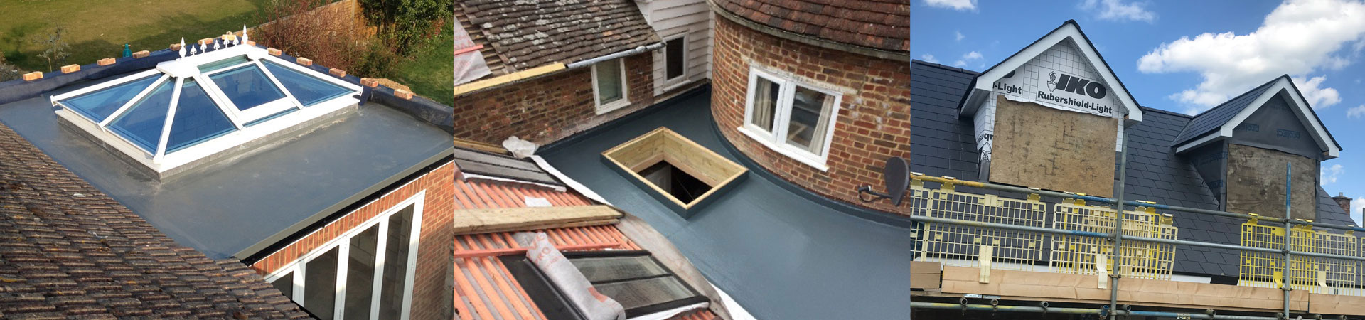 GRP Roofing installed by Wanstall Ltd