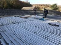 300m2 felt roof, Ashford